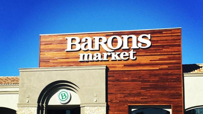 Baron's Market Store Front