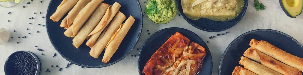 Enchiladas, taquitos