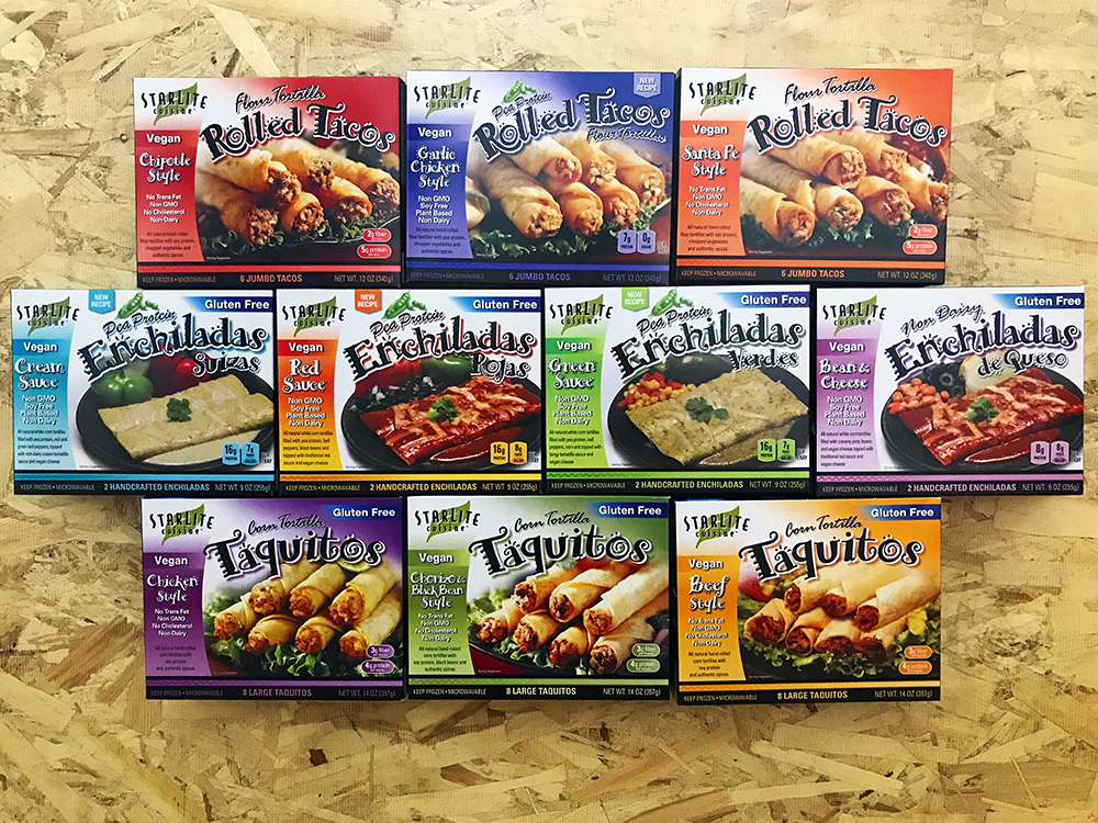 Full Line of StarLite Cuisine Products