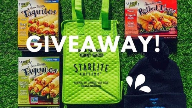 Cooler Bag, Beanie, and Boxes of StarLite Cuisine Taquitos and Rolled Tacos, Giveaway