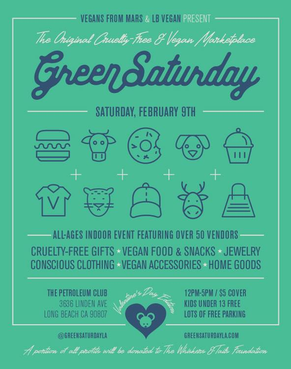 Green Saturday LA Flyer