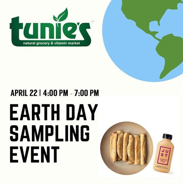 Earth Day Sampling Event
