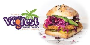 SoCal Vegfest - Vegan Sandwich